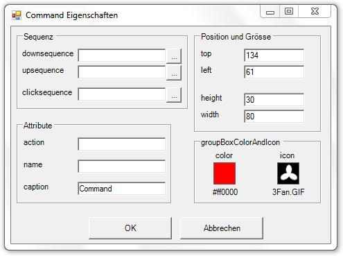 Picture 13: Eigenschaften des Commands