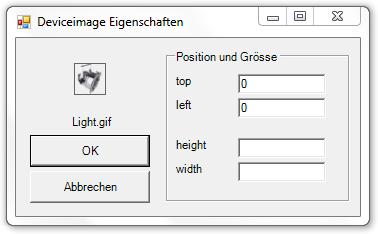 Picture 14: Eigenschaften des DeviceImages