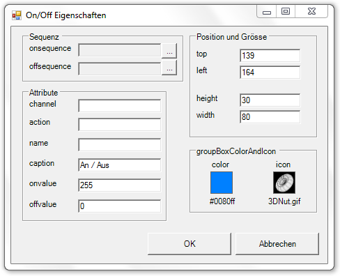 Picture 15: Eigenschaften des OnOff