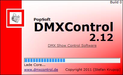 Picture 1: DMXControl 2 Startscreen