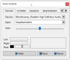 Abbildung 1.1:Audio Analyser Plugin