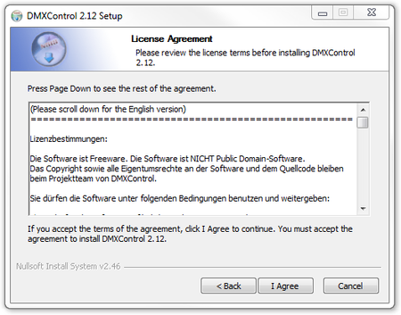 Picture 3: The license authentication window